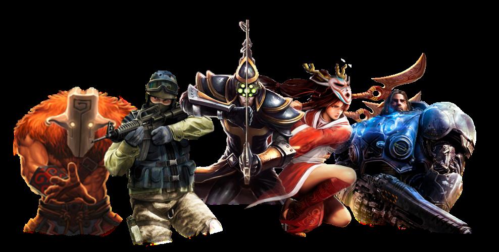5 personnages de jeux